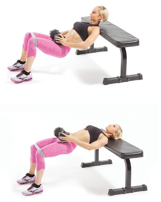 dumbbell-hip-thrust