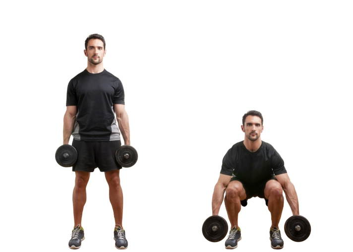 dumbbell-squat-leg-workout